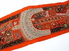 Table Linens Runner Wall Tapestry Hanging Beads Hand Embroidered Patchwork BR71