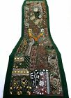Table Linens Runner Wall Tapestry Hanging Beads Hand Embroidered Patchwork BR46