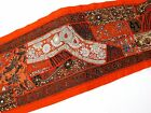 Table Linens Runner Wall Tapestry Hanging Beads Hand Embroidered Patchwork BR69