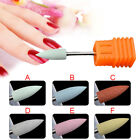 Rubber Silicone Electric Nail Art Machine Drill Bit Polishing Grinding Head File