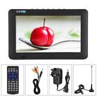 14'' Portable TV Digital Analog Television MP4 MP3 TFT DVB-T-T2 12V Player 16:9