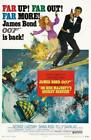 On Her Majesty's Secret Service Poster//On Her Majesty's Secret Service Movie Po $19.99 USD on eBay