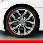 Car Wheel Hub Rim Edge Protector Ring Tire Guard Line Rubber Strip Sticker NEW