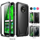 Moto G7 Plus / G6 / G6 Play,Poetic® [Ultra Hybrid] Bumper Shockproof Cover Case