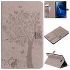 For Samsung Galaxt Tab A 8.0 T380 T385 2017 Smart Leather Wallet Flip Case Cover