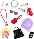 Barbie  Accessory Pack  New  accessories Set Glasses iPhone Popcorn purse