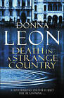 Death in a Strange Country: (Brunetti 2) by Donna Leon Paperback Book 2009