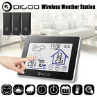 DIGOO Touch Screen Wireless Weather Station Temperature Humidity Meter Outdoor