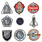 Spaceman Badges Embroidered Iron on Patch Space DIY Crafts Sport Emblems Sewing $1.32 USD on eBay