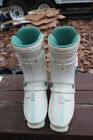 Salomon HPC SX82 325 Winter Downhill Ski Boots White Green Size 8