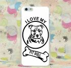 Pitbull Creative Animal Case Cover For Iphone Xr Xs Xs Max Apple I love My Pet