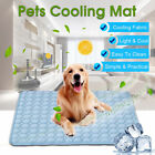 Dog Cooling Mat Pet Cat Chilly Non-Toxic Summer Cool Bed Pad Cushion Indoor US