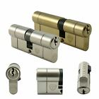 35/60 (30/10/55) Anti Snap Euro Cylinder Door Barrel Lock uPVC Aluminium Timber✔