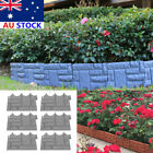 6pcs Garden Fence Outdoor Landscape Fencing Flower Barrier Border Edging Decor