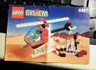 Lego 6487 Town Mountain Rescue  Instruction Booklet Only  Helicopte directionsr