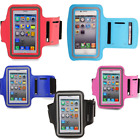Case Cover ArmBand For iPhone iPod Running Jogger Sports Gym Mobile Holder Blue