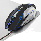 Aluminum Panel Luminous Wired Gaming Mechanical Keyboard and Mouse Sets PC