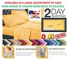 Top Head Split Flex King Size Bed Sheets Set Bedding Top Flex 1800 Deep Pocket image