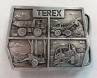 VINTAGE TEREX GM HEAVY EQUIPMENT BELT BUCKLE