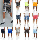 Men's Mesh Drawstring Basketball Shorts with Zippered Pockets  S ~ 5XL  JS17-A7B