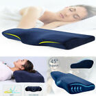 Butterfly Shaped Memory Foam Neck Pillow Slow Rebound Cervical Health Care Soft image