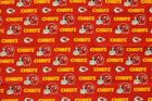 "Kansas City Chiefs Football Sheeting Fabric Cotton 5 Oz 58-60"" on eBay"