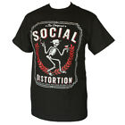 SOCIAL DISTORTION PUNK ROCK BAND  MEN'S T-SHIRT BLACK   image