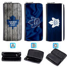 Toronto Maple Leafs Leather Wallet Purse Zip Around Card Phone Holder $15.99 USD on eBay