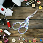 Floral Embroidery Cross Stitch Scissors Cutter Cutting Shears Craft Sewing Tool