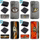 Anaheim Ducks Leather Wallet Purse Zip Around Women Handbag Clutch $17.99 USD on eBay
