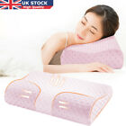 Uk Contour Memory Foam Pillow Orthopaedic Firm Head Neck Back Support Pillows