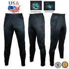 GYM Mens Sport Athletic Soccer Fitness Training Running Casual Pants Trousers