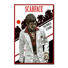 Scarface Al Pacino Classic Movie Canvas Poster Art Prints 8x12 24x36 inch
