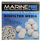 CerMedia MarinePure Block 8x8x4 Plate 8x8x1 Sphere 1.5 in Marine Pure Media GEMS