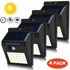 Внешний вид - 4X 20LED Solar Power Light PIR Motion Sensor Security Outdoor Garden Wall Lamp E