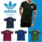 ADIDAS ORIGINALS CALIFORNIA SHORT SLEEVE T SHIRT CREW NECK RETRO ESSENTIALS SALE
