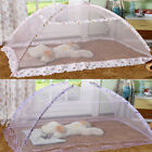 US Elegant Lace Bed Mosquito Netting Mesh Canopy Princess square Bedding Net New image