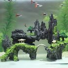 Внешний вид - Mountain View Aquarium Rock Cave Tree Bridge Fish Tank Ornament Rockery Decor