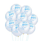 """""""Its A Boy"""" or """"Its A Girl"""" Latex Balloons Gender Reveal Baby Shower Decor Gift"""