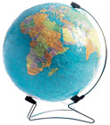 Ravensburger The World on V-Stand Globe, 540pc 3D Jigsaw Puzzle®