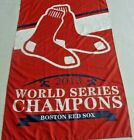 *HOT Boston Red Sox 2013 World Series Champions 3'X5' Sports Banner Man-Cave WOW on Ebay