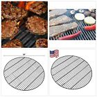BBQ Porcelain Enameled Rod Cooking Grates for Grill, Fire Pit, 36-inch