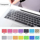 """Hot Silicone Keyboard Skin Cover Film For Apple Macbook Pro 13""""15"""" Retina Air11"""""""
