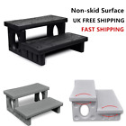 Durable Spa Steps Plastic Non-skid Surface Convenient for Spa and Hot Tub New