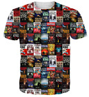 3D Print Stephen King Horror Movie Casual T Shirt New Women Men Short Sleeve Top