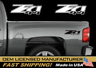 2-chevy Z71 4X4 2007-2013 DECALS SILVERADO GMC SIERRA TRUCK VINIL STICKER SET