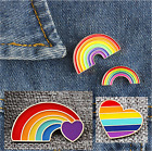 Unisex Cute Colourful Rainbow Nhs Support Brooch - 4 Designs - Uk Stock