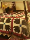 CROCHET PATTERN ~  BEAR CLAW QUILT AFGHAN BLANKET   ~ INSTRUCTIONS