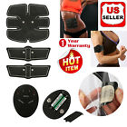 Wireless Abs Electric Muscle Toner EMS Machine Toning Belt Simulation Fat Burner