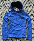 NWT BOYS YOUTH KIDS UNDER ARMOUR COLD GEAR BLUE PULLOVER HOODIE JACKET SZ S M